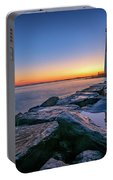 Reflections Of Barnegat Light Portable Battery Charger