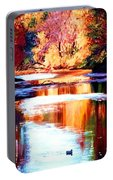 Reflections Of October Portable Battery Charger