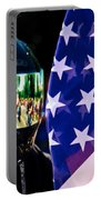 Reflections Of Rolling Thunder Portable Battery Charger