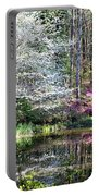 Reflections Of Spring Portable Battery Charger