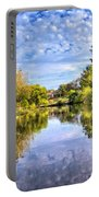 Reflections On Cibolo Creek Portable Battery Charger