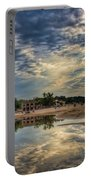 Reflections On The Beach Portable Battery Charger