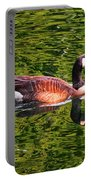 Reflections - Swimming Goose 003 Portable Battery Charger