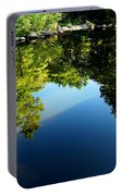Reflections Trees Portable Battery Charger