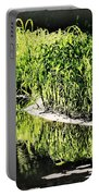 Reflective Shorelines Portable Battery Charger