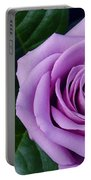 Regal Rose I Purple Rose Portable Battery Charger