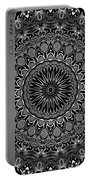 Regalia Black And White No. 4 Portable Battery Charger