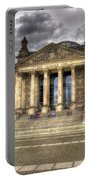 Reichstag Building  Portable Battery Charger by Jon Berghoff