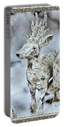 Reindeer And Owls Holiday Celebration 2 Portable Battery Charger