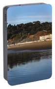 Relaxing At Ocean Beach San Francisco Portable Battery Charger