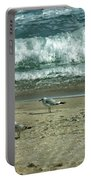 Relaxing By The Ocean Portable Battery Charger