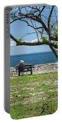 Relaxing By The Shore Portable Battery Charger
