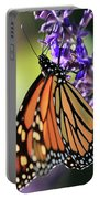 Relaxing Monarch Butterfly Portable Battery Charger