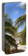 Relaxing On The Beach. Pinel Island Saint Martin Caribbean Portable Battery Charger