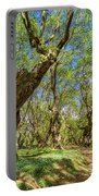 Relaxing Planes Trees Arbor Portable Battery Charger