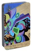 Reloaded Or Education Is A Powerful Weapon Mural -- 2 Portable Battery Charger