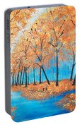 Remembering Autumn Portable Battery Charger