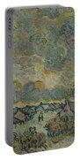 Reminiscence Of Brabant Saint Remy De Provence March - April 1890 Vincent Van Gogh 1853  1890 Portable Battery Charger