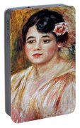 Renoir: Adele Besson, 1918 Portable Battery Charger