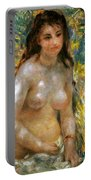 Renoir: Torso, C1876 Portable Battery Charger