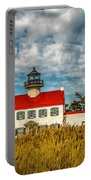 Renovated East Point Lighthouse Portable Battery Charger