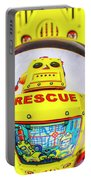 Rescue Yellow Bot Portable Battery Charger