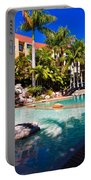 Resort Pool Portable Battery Charger