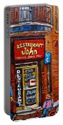 Restaurant John Montreal Portable Battery Charger