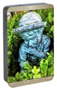 Restful Moment In The Garden Portable Battery Charger