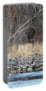 Resting Canadian Geese Portable Battery Charger