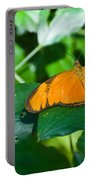 Resting--tropical Butterfly Portable Battery Charger