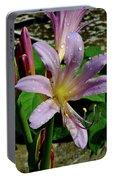 Resurrection Flower Portable Battery Charger