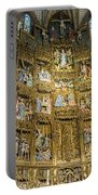 Retable - Toledo Cathedral - Toledo Spain Portable Battery Charger