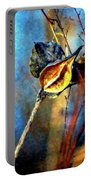 Retirement Watercolor Portable Battery Charger