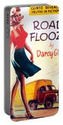Retro 1950s Book Cover Floozie Bimbo Old School Nympho Portable Battery Charger