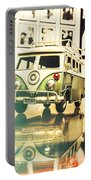 Retro 60s Toy Van Portable Battery Charger