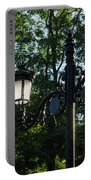 Retro Chic Streetlamps - Old World Charm With A Modern Twist Portable Battery Charger