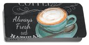 Retro Coffee 1 Portable Battery Charger