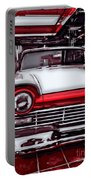 Retro Diner Portable Battery Charger