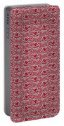 Retro Red Pattern Portable Battery Charger