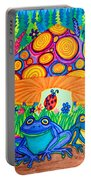 Return To Happy Frog Meadow Portable Battery Charger