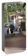 Returning Home With Sheep And Lambs In Bozburun Portable Battery Charger