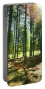 Retzer Nature Center Pine Trees Portable Battery Charger