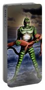 Revenge Of The Creature Portable Battery Charger