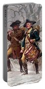 Revolutionary War Soldiers Marching Portable Battery Charger