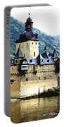 Rhine River Castle Portable Battery Charger