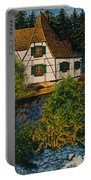 Rhine River Cottage Portable Battery Charger