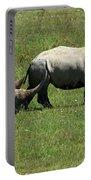 Rhino Mother And Calf - Kenya Portable Battery Charger