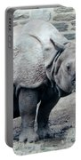 Rhinoceros And Baby Portable Battery Charger