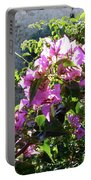 Rhodes Greece Flowers Portable Battery Charger